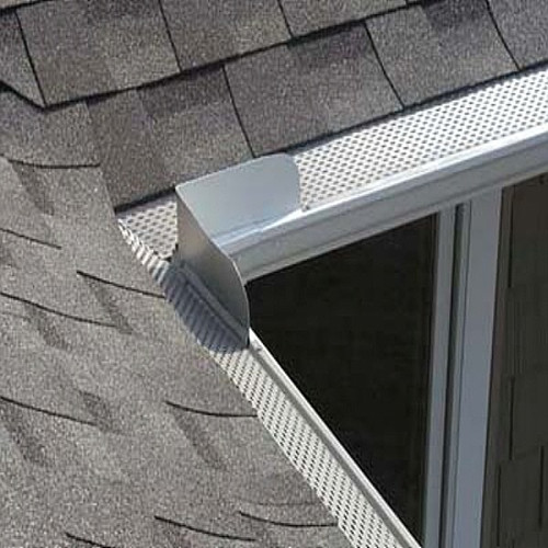 Gutter Guards Made in Perforated Sheet and Wire Mesh