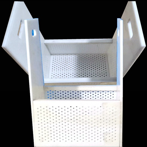 Industrial Plastic Perforated Dipping Basket